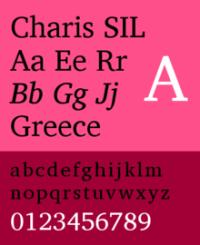 Charis_SIL_specimen_1